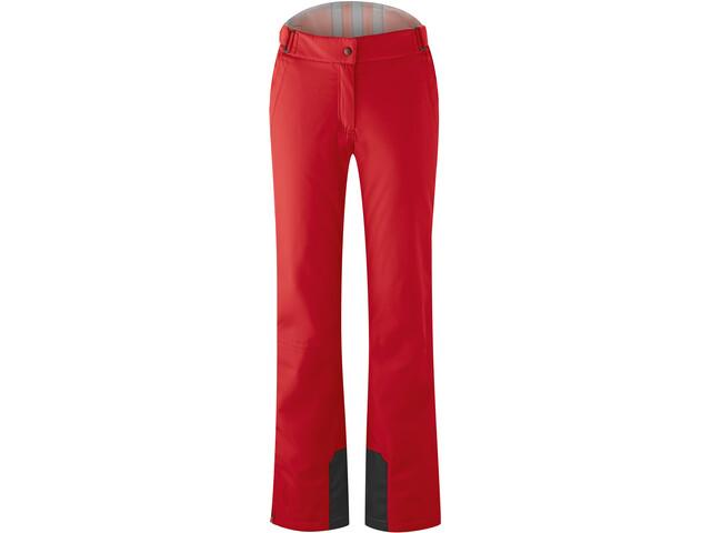 Maier Sports Steffi Slim Pants Women, rojo